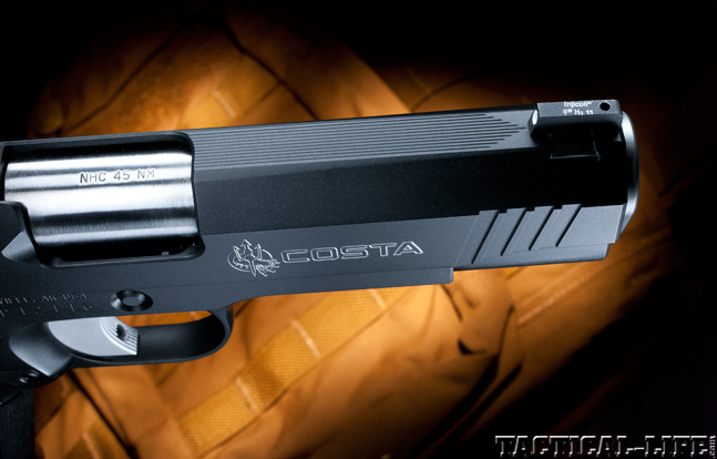 Combat Handguns top 1911 2015 NIGHTHAWK CUSTOM COSTA COMPACT barrel