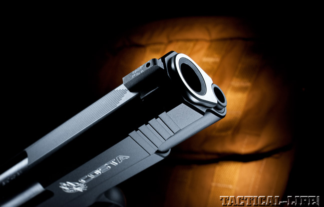 Combat Handguns top 1911 2015 NIGHTHAWK CUSTOM COSTA COMPACT muzzle