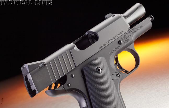 Combat Handguns top 1911 2015 PARA EXECUTIVE CARRY slide