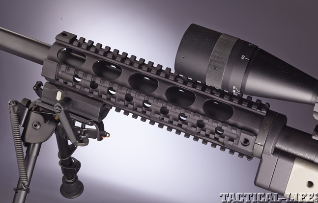 Top 30 Rifles TACTICAL WEAPONS 2014 Sisk STAR rail