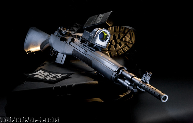 Top 30 Rifles TACTICAL WEAPONS 2014 Springfield Armory M1A Scout Squad