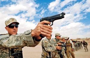 Beretta M9 SWMP Jan 2015 field