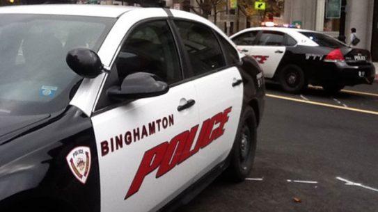 Binghamton Police Department car