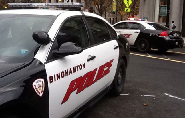 Binghamton Police Department car