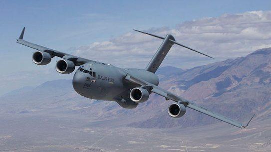 Boeing C-17 Globemaster III U.S. Air Force