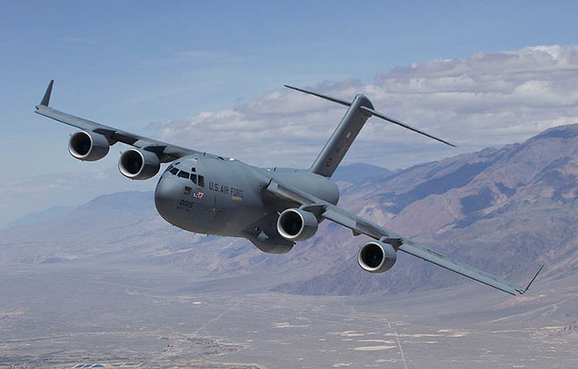 Boeing C-17 Globemaster III U.S. Air Force