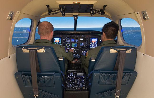 T-44C Flight Simulators CAE U.S. Navy