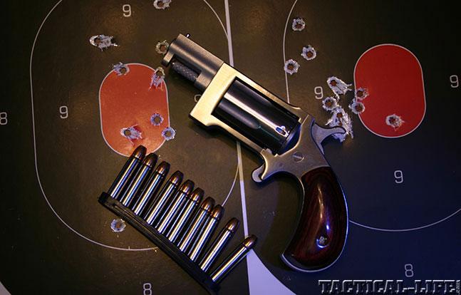Combat Handguns top revolvers 2014 NAA SIDEWINDER target