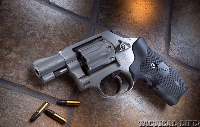 Combat Handguns top revolvers 2014 SMITH & WESSON MODEL 317 lead