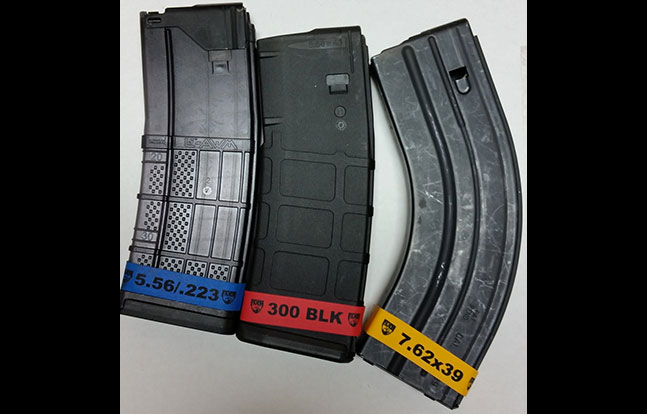 Faxon Firearms Magazine Marker Bands mag