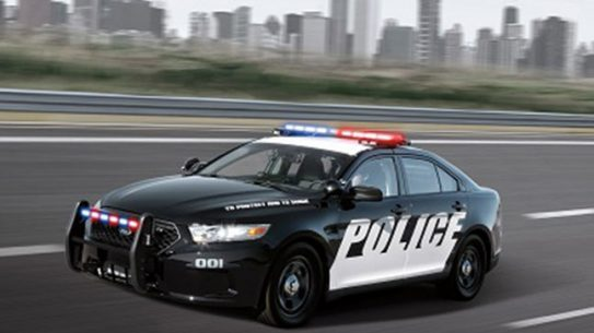 Ford Police Interceptor Acceleration 2014