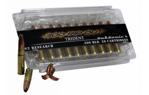G2 Research 300 Ripout Round ammo