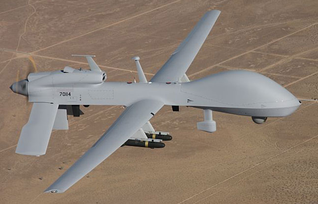 UAV complex Gray Eagle UAS General Atomic Aeronautical