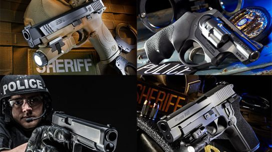 Handguns GUNS & WEAPONS FOR LAW ENFORCEMENT 2014 roundup