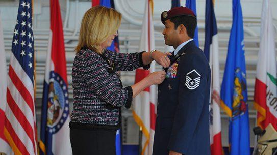 Pararescueman Ivan Ruiz Air Force Cross