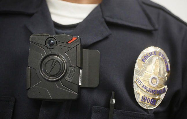 LAPD body cameras TASER International San Francisco