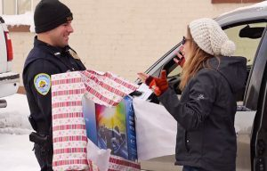 Lowell Police Christmas surprise