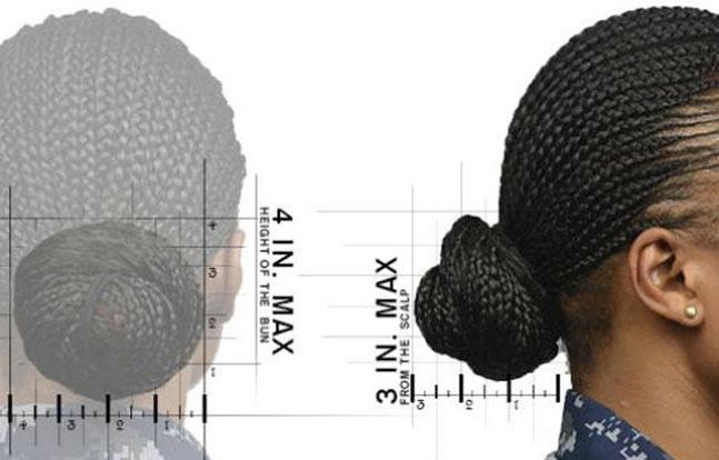 U.S. Navy Hair Regulations females