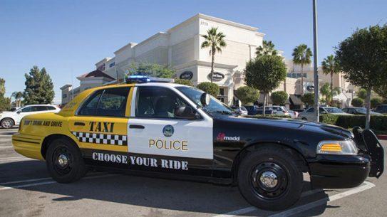 Riverside Police Know Your Limit program breathalyzer