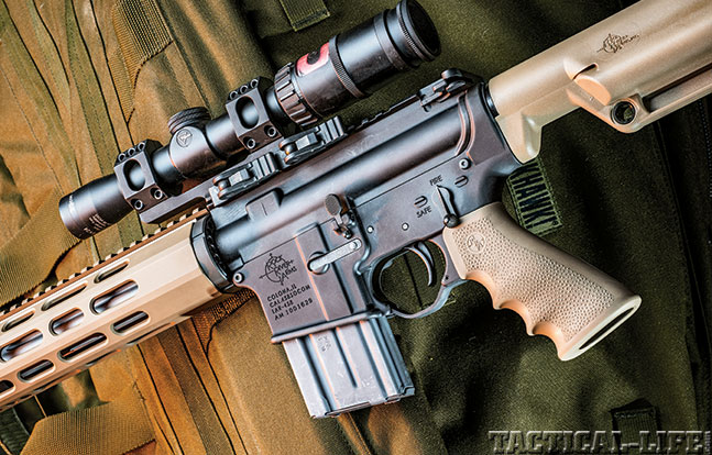 Rock River Arms LAR-458 X-1 SWMP Jan 2015 scope