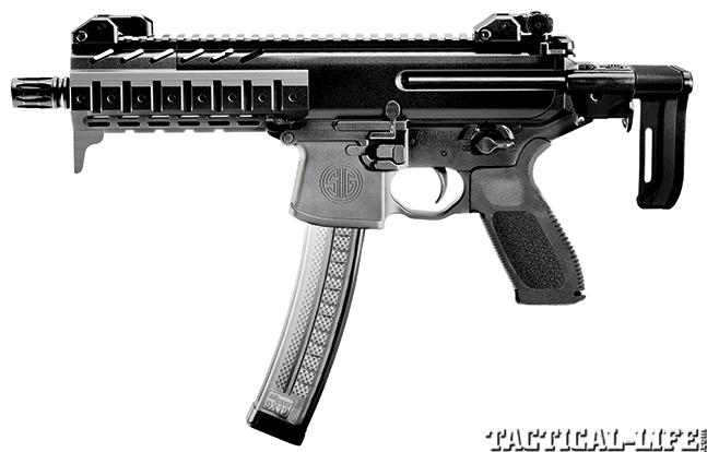 Gun Test of the Sig Sauer MPX 9mm Ultra-Compact Submachine Gun