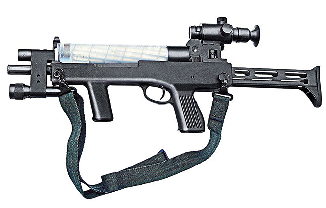 Submachine Guns China SWMP Jan 2015 Type 06