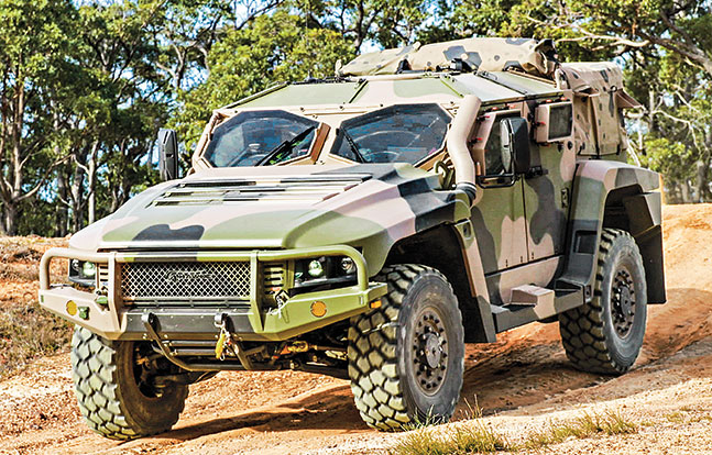 Tactical Trucks SWMP Jan 2015 Australia Hawkei