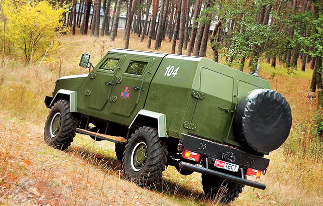 Tactical Trucks SWMP Jan 2015 Ukraine SRM-1 Kozak