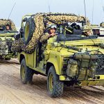 Tactical Trucks SWMP Jan 2015 United Kingdom Land Rover Defender