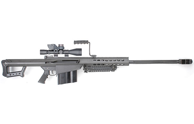Top 12 .50 BMG Rifles TW March 2015 Barrett Model 82A1
