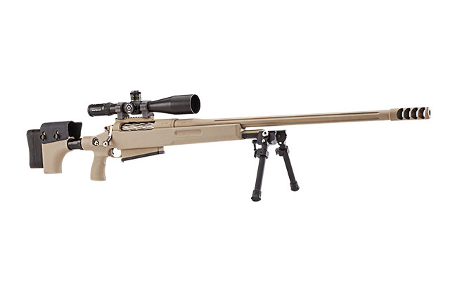 Top 12 .50 BMG Rifles TW March 2015 McMillan TAC-50 A1-R2