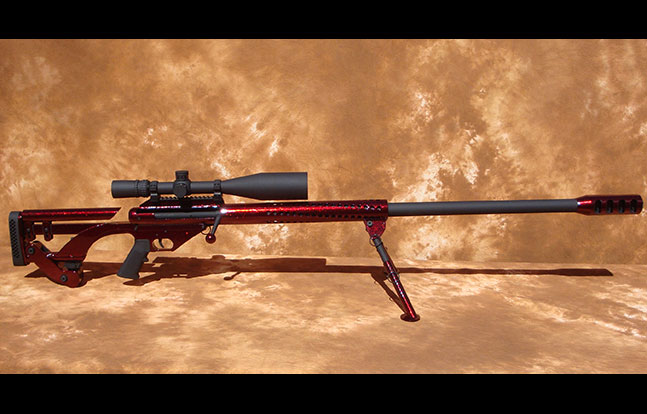 Top 12 .50 BMG Rifles TW March 2015 Spider SuperComp Ferret50