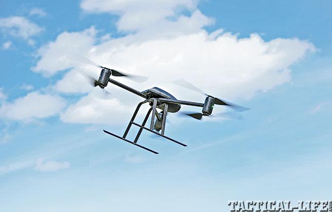 UAV GWLE Dec 2014 Draganfly X-6