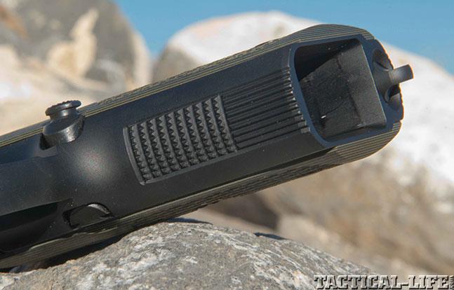 Wilson Combat Beretta 92G Brigadier Tactical front strap