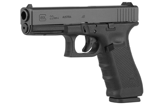 11 Top Striker-Fired Pistols law enforcement Glock 22 Gen4