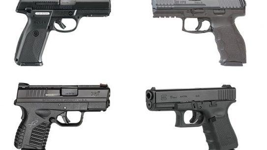 11 Top Striker-Fired Pistols law enforcement lead
