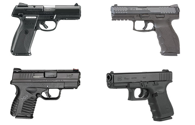 11 Top Striker-Fired Pistols law enforcement lead