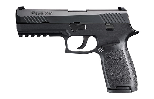 11 Top Striker-Fired Pistols law enforcement Sig Sauer P320