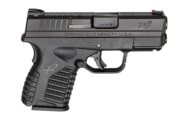 11 Top Striker-Fired Pistols law enforcement Springfield Armory XD-S 3.3