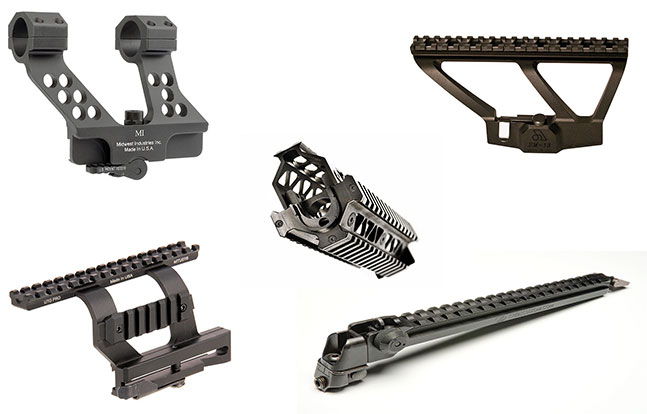 14 Rails Mounts Handguards AK platform lead