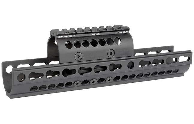 14 Rails Mounts Handguards AK platform Midwest Industries AK-SSK KeyMod Handguard