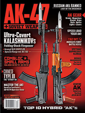 AK-47 & SOVIET WEAPONS 2015 mag cover
