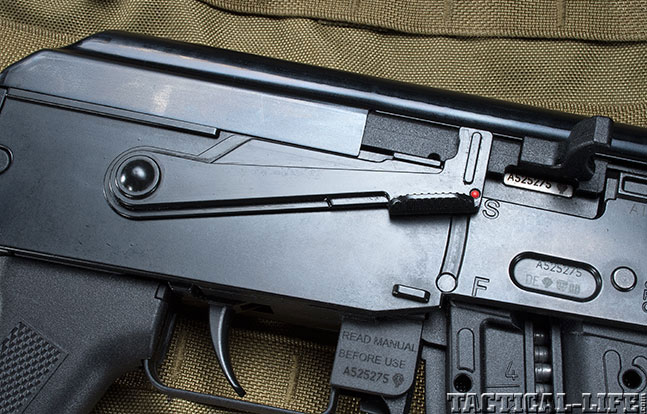 American Tactical GSG AK-47 2015 safety