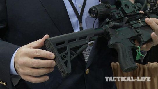 Advanced Technology International TactLite AR-15 Stock SHOT Show 2015