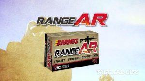 Barnes Bullets RangeAR Ammunition
