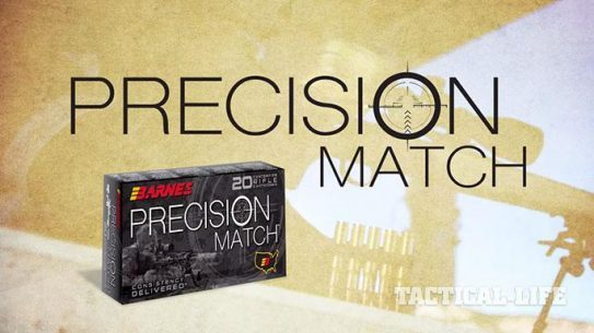 Barnes Bullets Precision Match Ammo