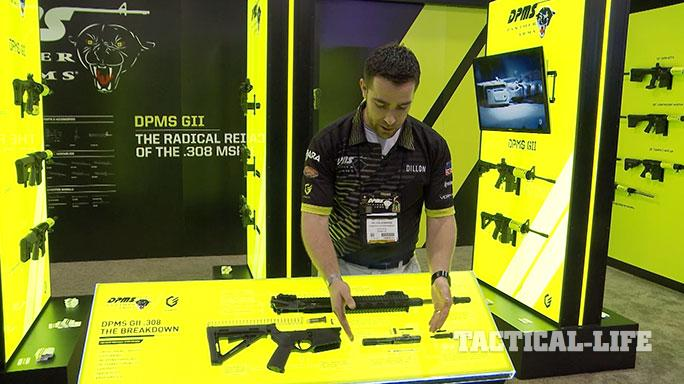 DPMS GII Rifles SHOT Show 2015