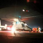 K-MAX Unmanned Helicopter SWMP Jan 2015 night