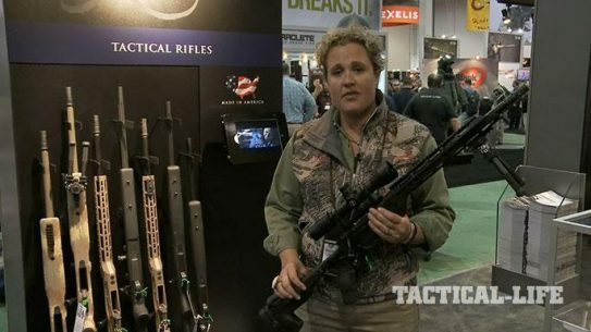 Kimber Advanced Tactical SRC Rifle SHOT Show 2015