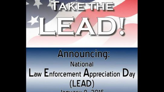 National Law Enforcement Appreciation Day 2015